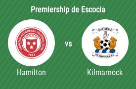 Hamilton Academical FC vs Kilmarnock Football Club
