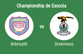 Arbroath FC vs Inverness Caledonian Thistle FC