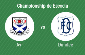 Ayr United Football Club vs Dundee FC