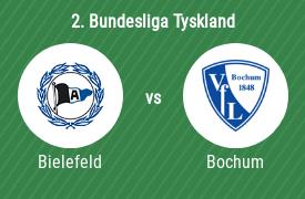 DSC Arminia Bielefeld mot VfL Bochum