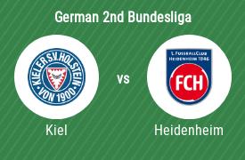Holstein Kiel vs 1. FC Heidenheim