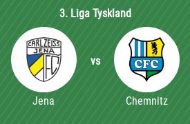 FC Carl Zeiss Jena mot Chemnitzer FC