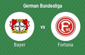 Bayer Leverkusen vs Fortuna Dusseldorf