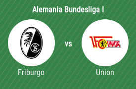 Sport-Club Friburgo vs 1. FC Union Berlin