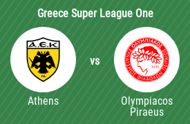 AEK Athens Football Club vs Olympiacos Football Club