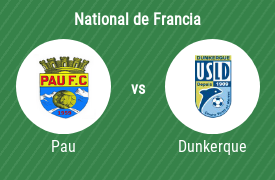 Pau Football Club vs USL Dunkerque