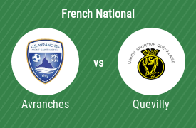 US Avranches vs US Quevilly