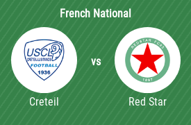 US Creteil Lustianos vs Red Star Football Club