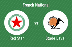 Red Star Football Club vs Stade Lavallois MFC