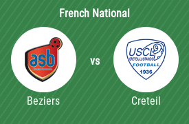 AS Beziers vs US Creteil Lustianos