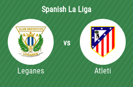 Club Deportivo Leganes vs Atletico Madrid