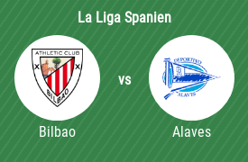 Athletic Bilbao mot Deportivo Alaves
