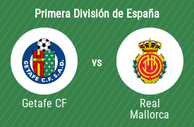 Getafe Club de Fútbol vs Real Club Deportivo Mallorca