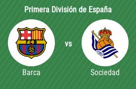 Fútbol Club Barcelona vs Real Sociedad de Fútbol