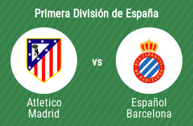 Club Atlético de Madrid vs Real Club Deportivo Español