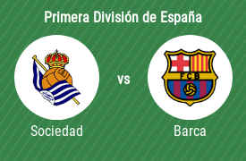 Real Sociedad de Fútbol vs Fútbol Club Barcelona