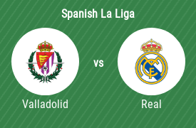 Real Valladolid SAD vs Real Madrid CF