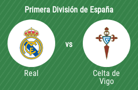 Real Madrid Club de Fútbol vs Real Club Celta de Vigo