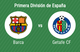 Fútbol Club Barcelona vs Getafe Club de Fútbol