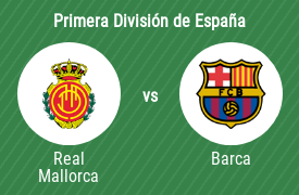 Real Club Deportivo Mallorca vs Fútbol Club Barcelona