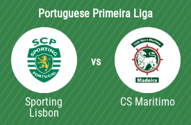 Sporting CP vs Club Sport Maritimo