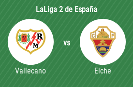 Rayo Vallecano de Madrid vs Elche Club de Fútbol