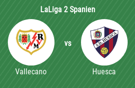 Rayo Vallecano mot SD Huesca