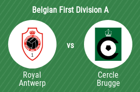 Royal Antwerp Football Club vs Cercle Brugge K.S.V.