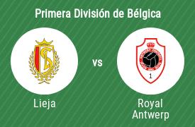 Standard Lieja vs Royal Antwerp Football Club