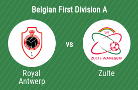 Royal Antwerp Football Club vs SV Zulte Waregem
