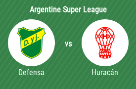 Defensa y Justicia vs Club Atlético Huracán
