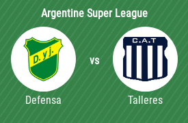 Defensa y Justicia vs Club Atlético Talleres