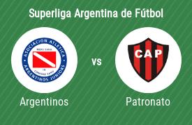 Asociación Atlética Argentinos Juniors vs Club Atlético Patronato