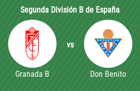 Granada CF B vs CD Don Benito