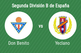 CD Don Benito vs Yeclano Deportivo