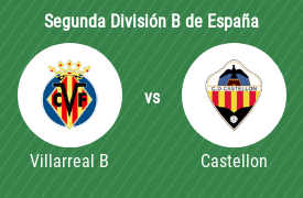 CF Villarreal B vs CD Castellon