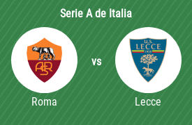 AS Roma vs Unione Sportiva Lecce
