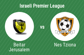 Beitar Jerusalem Football Club vs Football Section Nes Tziona
