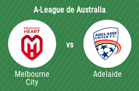 Melbourne City Football Club vs Adelaide United Football Club