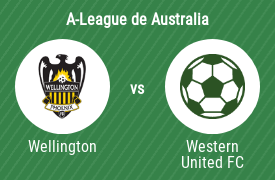 Wellington Phoenix Football Club vs Western United Football Club