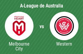 Melbourne City Football Club vs Western Sydney Wanderers Football Club
