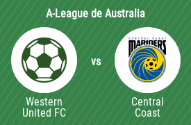 Western United Football Club vs Central Coast Mariners Football Club