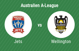 Newcastle Jets FC vs Wellington Phoenix FC