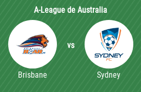 Brisbane Roar FC vs Sydney Football Club