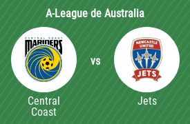 Central Coast Mariners Football Club vs Newcastle Jets FC