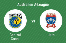 Central Coast Mariners FC mot Newcastle Jets FC