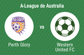 Perth Glory Football Club vs Western United Football Club