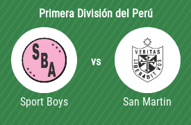 Sport Boys Association vs Club Deportivo Universidad de San Martín