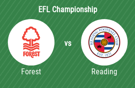 Nottingham Forest FC mot Reading Football Club