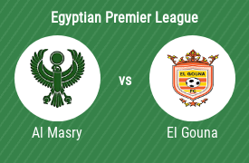 Al Masry Sporting Club vs El Gouna Football Club